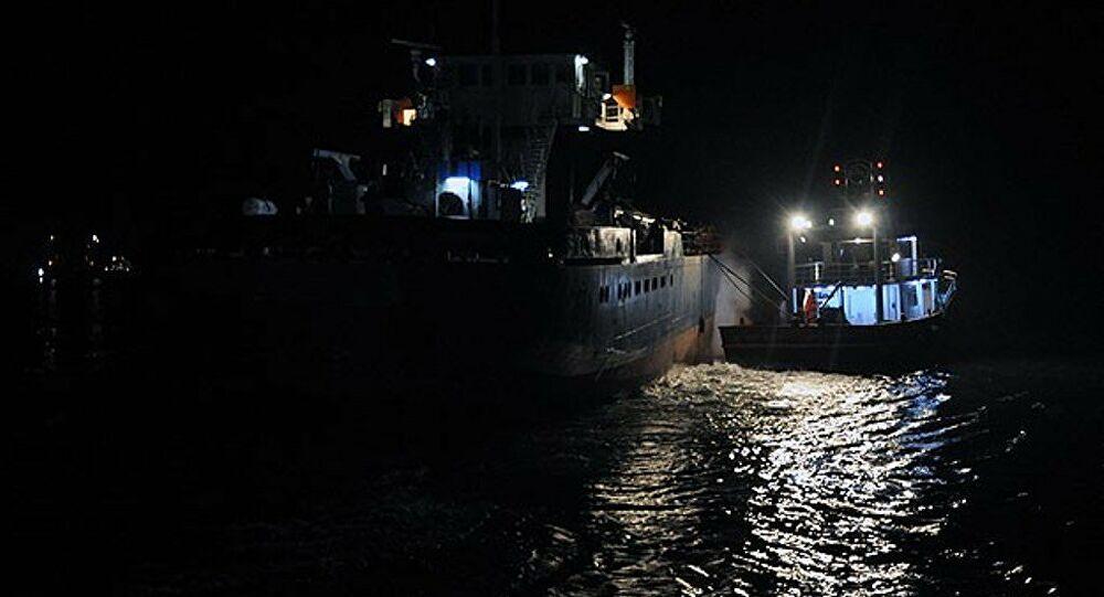 Gemici denize düştü aranıyor