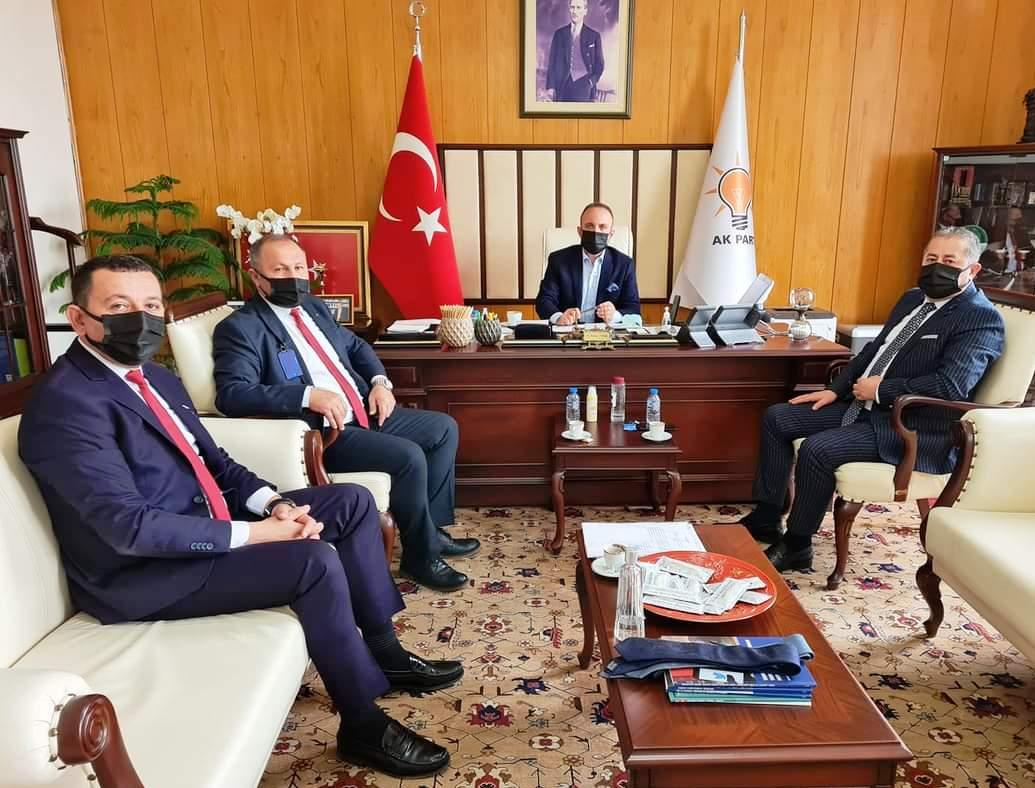 Oda Başkanları Ankara'da