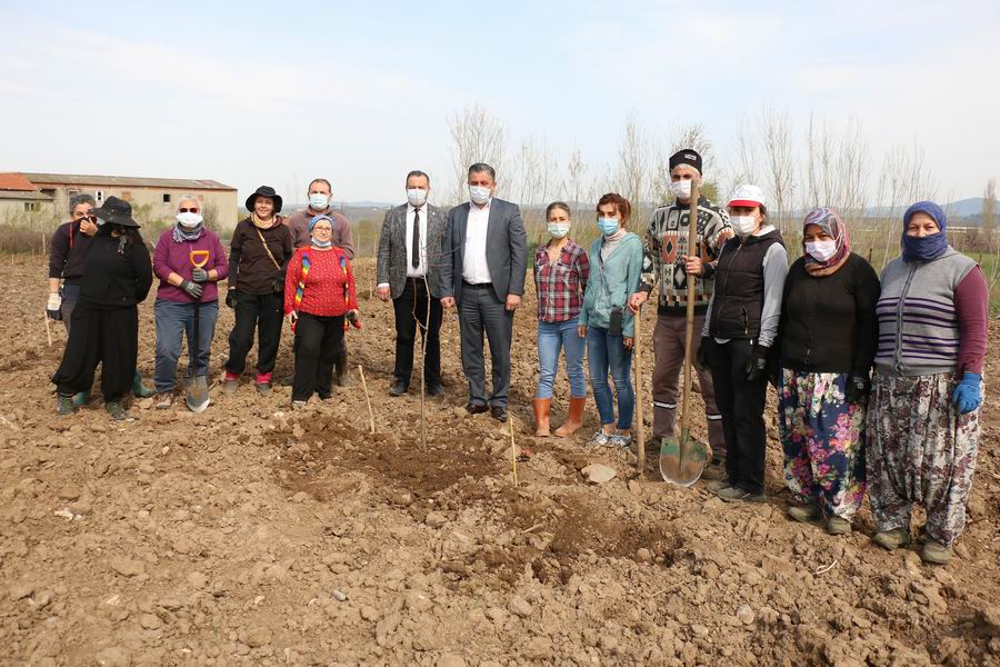 Yerel meyve mirası bahçesi'nin ilk adımı atıldı