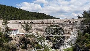 5 bin yıllık su kemeri restore ediliyor