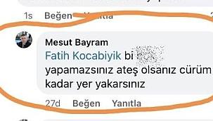 Ayvacık Belediye Başkanı Bayram, hemşehrisine hakaret etti
