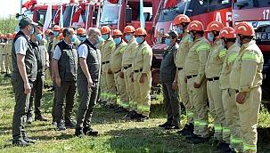 Çanakkale Orman Bölge Müdürlüğü tatbikat gerçekleştirdi