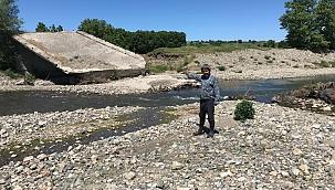 Köylülerin 26 yıllık köprü çilesi