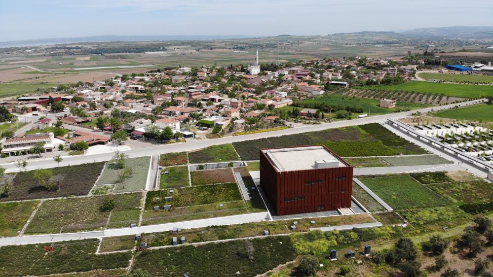 """Troya Müzesine """"2020 Yılı Avrupa Yılın Müzesi Özel Ödülü"""""""