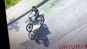Biga'da motosiklet hırsızlığı