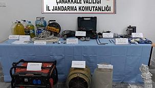 Çanakkale'de kaçak kazı operasyonu: 11 gözaltı