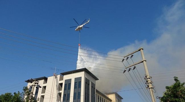 Emniyet Müdürlüğü binası yangında zarar gördü