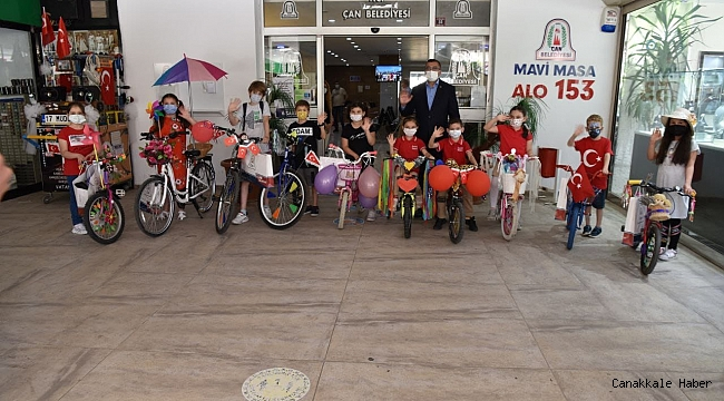En güzel bisiklet yarışması ödülleri sahiplerini buldu