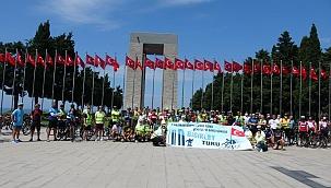 Tarihi Yarımada'da Şehitlere Saygı Sürüşü Bisiklet Turu düzenlendi