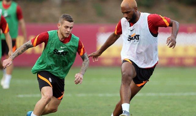 Berkan Kutlu, Galatasaray ile ilk antrenmanına çıktı
