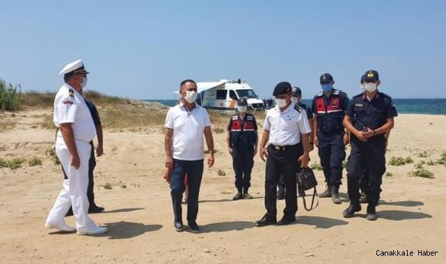 Bozcaada'da denizde kaybolan kişi 2 gündür bulunamadı