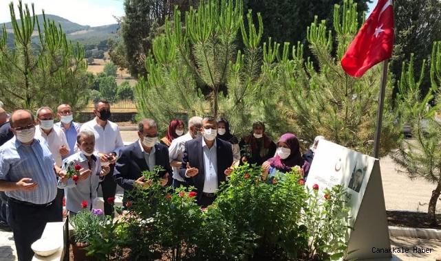 Çan'da şehitler dualar ile anıldı