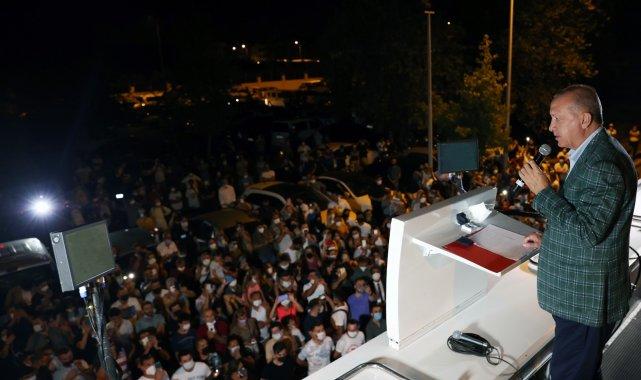 """Cumhurbaşkanı Erdoğan: """" Şimdiden bazı emarelere ulaşıldı, gereğini yapacağız"""""""
