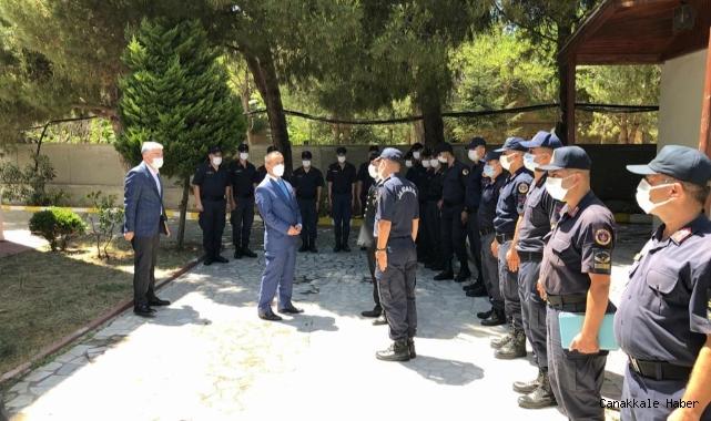 Vali Aktaş, çalışanları ziyaret etti