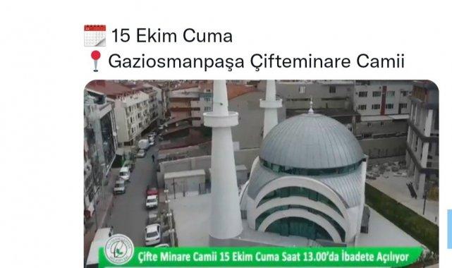 Başkan Usta'dan CHP'li Tuncay Özkan'ın 'cami yerine rezidans yaptı' iddiasına tokat gibi yanıt