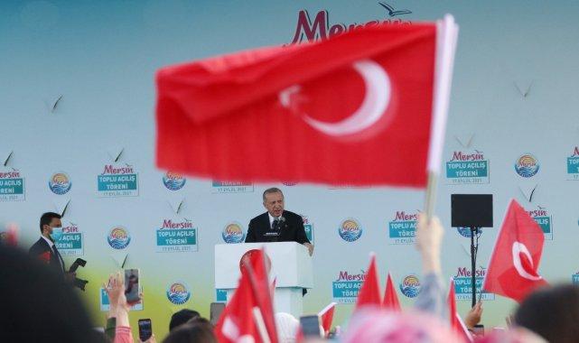 """Cumhurbaşkanı Erdoğan: """"Amacımız ülkemizi ikinci üçüncü santrallere kavuşturmak"""""""