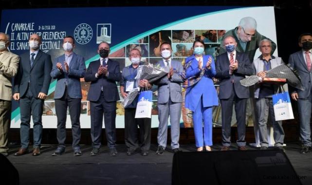 Turan, Altın Eller Geleneksel El Sanatları Festivali açılışına katıldı