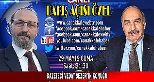 Gazeteci Vedat Sezer'in konuğu Çevre eski Bakanı Üçpınarlar