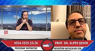 Korona Virüs hakkında merak edilenleri Prof. Dr. Alper Şener cevaplandırdı